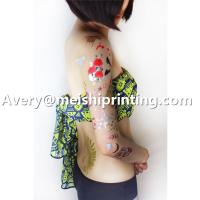 2015 Sexy Beautiful Flower Metallic Shiny Flash Temporary Body Tattoo Manufactures