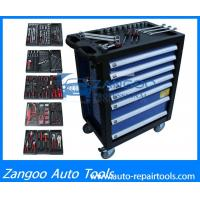 High Performance Wheeled Rolling Tool Box  With Full Tools Durable Tool Storage Chest Manufactures