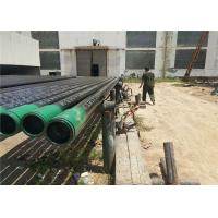 Thickness Wall Carbon Steel Pipes And Tubes SCH 40 With Plastic / Steel Ring Manufactures