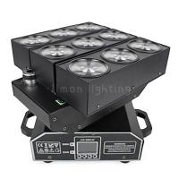 Individual Control 9x10W RGBW 4in1 Cree LED Moving Head Deformation Matrix Beam Light Manufactures