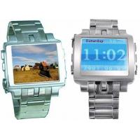 Buy cheap Stainless Steel MP4 Watch Player from wholesalers