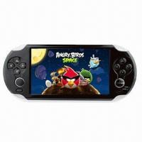 China 5-inch Android 4.0 Game Player with AML8726M 3 ARM Cortex A9 CPU on sale