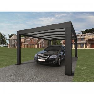 Intelligent Garage Parking Shed / LED Solar Garage Automatic Carport Garden Door 5.52 x 3.52 x 2.4 m390 kg Manufactures