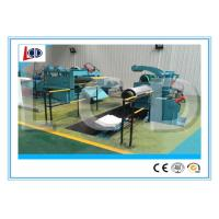 3.5 Ton steel coil cut to length line 18m / min working speed with sheet straightening Manufactures