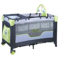 China good quality fasion design baby playpen come with toy bar changing table on sale
