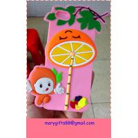 Buy cheap lovely pink funky silicone rubber mobile phone case from wholesalers