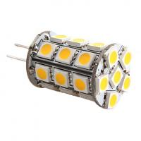 G4 5W 27x5050 SMD 400-450LM 3000-3500K Warm White Light LED Corn Bulb (12V) Manufactures