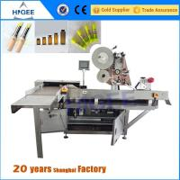 Vial Sticker Labeling Machine Gel polish and nail polish stcikers Manufactures