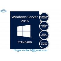 Genuine Microsoft Windows Server 2016 Licensing Standard R2 Retail Box Manufactures