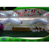 Parachute Kite Inflatable Advertising Balloons 2m Height White 3 Years Warranty Manufactures
