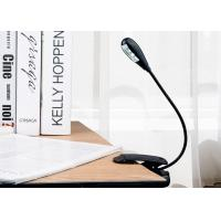 China Multi - Purpose Dimmable Led Clip On Book Lights For Reading Cordless Design on sale