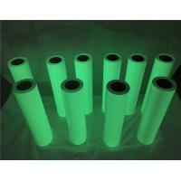 50cm*50m Green Color Glow In The Dark Printer Paper For Apparel / Shoes Manufactures