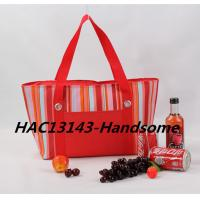 Red promotional cooler bag for women-HAC13143 Manufactures