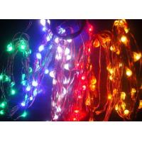 5m/25leds Flat battery operated holiday time lights Manufactures