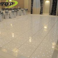 China white or black acrylic RGB /RGBW led starlit dance floor for sale on sale