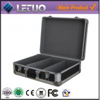 Aluminum china supplier dvd duplicator case portable flight case To Fit 100 CD