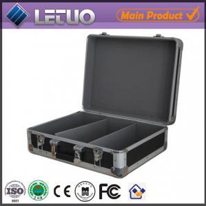 Aluminum china wholesale stylish cd case aluminium metal flight case To Fit 80 CD