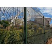 China 358 Mesh Anti Climb High Security Prison & Border Fence Hot Dip Galvanized 12,7 x 76,2mm on sale