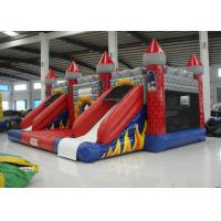 New Inflatable volcano bouncy castle full printing inflatable jumping castle combo beautiful color inflatable jump Manufactures