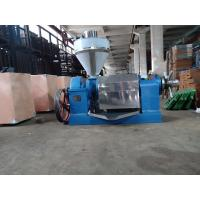 China Sunflower Seed Electric Oil Press Machine ZX85 60-80kg/H Long Durability on sale