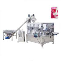 Buy cheap Custard Powder packing stand up pouch filling and sealing machine from wholesalers