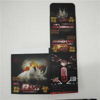 ABS Material Plastic Pill Bottles Rhino 12 Blister Packaging Card Display Box Manufactures