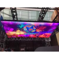 Audio Visual Indoor LED Video Walls DJ Booth 3.9mm LED Screem 1/16 Scan Driving Manufactures