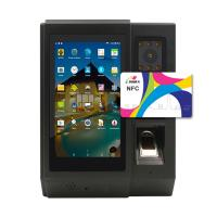 Best 5 inch Android Access Control Door with Lithium-polyment Battery Fingerpirnt Time Attendance  HF-A5 Manufactures