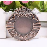 Metal blank sports medals, custom made antique bronze blank metal medallions, Manufactures