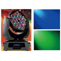 RGBW Wash 108pcs 3w LED Moving Head Light For Disco / Concert / Theatre / Holiday Manufactures