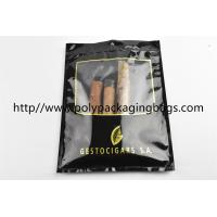 Resealable Ziplock Portable Cigar Humidor Bags Stable 70% Humidity Easy To Use Manufactures