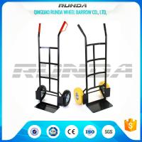 Warehouse Hand Truck Dolly HT1830 200kg Load Powder Coating 185mm Toe Plate Manufactures