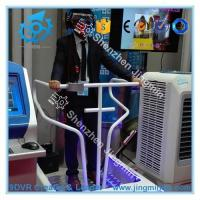 Professional stand virtual reality 5D9D roller coaster simulator vibrating VR Manufactures