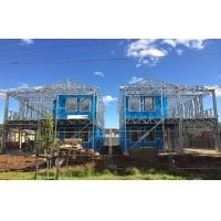China High quality light Steel Frame Prefab Villa / Quick Assemble Prefab Homes wholesale