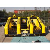 China Commercial rugby ball N football shooting inflatable games for sport challenge on sale