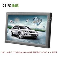10 Inch 12v HDMI Monitor, Auto Play TFT HD LCD Monitor with HDMI  /  VGA  /  DVI Manufactures