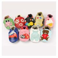 lovely animal patten manufacturer wholesale soft sole baby leather shoe Manufactures