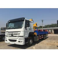 Cargo 12T  Truck Mounted Crane 6x4 Drive Type 10 Wheel 290HP Engine Manufactures