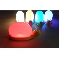 Pink Touch Lighting LED Baby Night Light Warm Safety / Baby Nursery Night Light Lamp Manufactures