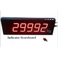 China Professional Wireless Digital Weight Indicator Scoreboard with 3 - 7inch LED display on sale