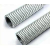 6063 Aluminum Heatsink Extrusion Profiles Shape Customized For LED Lighting Manufactures