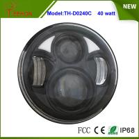 China 2015 Newest 5.75 Round 40W High beam/Low beam LED headlight for Harley Motorcycle on sale