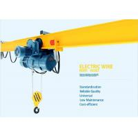 Mini 10 Ton Univeral Wire Rope Electric Hoist Small Volume Light Weight Manufactures