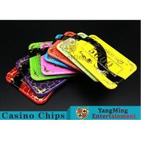 Quality 3.3mm Thickness Acrylic Casino Poker Chips With 11 Kind Of Colors to Choose for sale