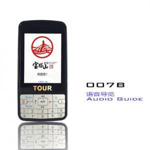 Black Audio Tour Equipment , 007B Automatic Induction Tour Guide System Equipment Manufactures
