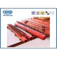 China Red Effective Energy Saving Boiler Manifold Headers For Industry , Long Life on sale