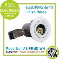 IP20 Tiltable White Fire Rated Downlight | Aluminium Alloyed | China Factory Manufactures