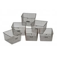 Custom Made Metal Wire Mesh Baskets Manufactures