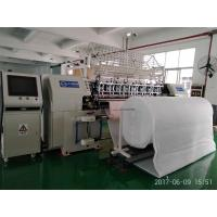 Buy cheap High Precision Automatic Lock Stitch Quilting Machine CNC System 128 Inch Width from wholesalers