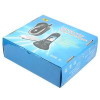 Quality Digital Intercom 2.4GHZ Wireless Video Doorbell ABS Black With Recording for sale
